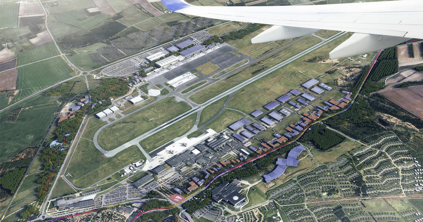 Vækstplan 2040 sætter høje ambitioner for udviklingen af Billund Lufthavn