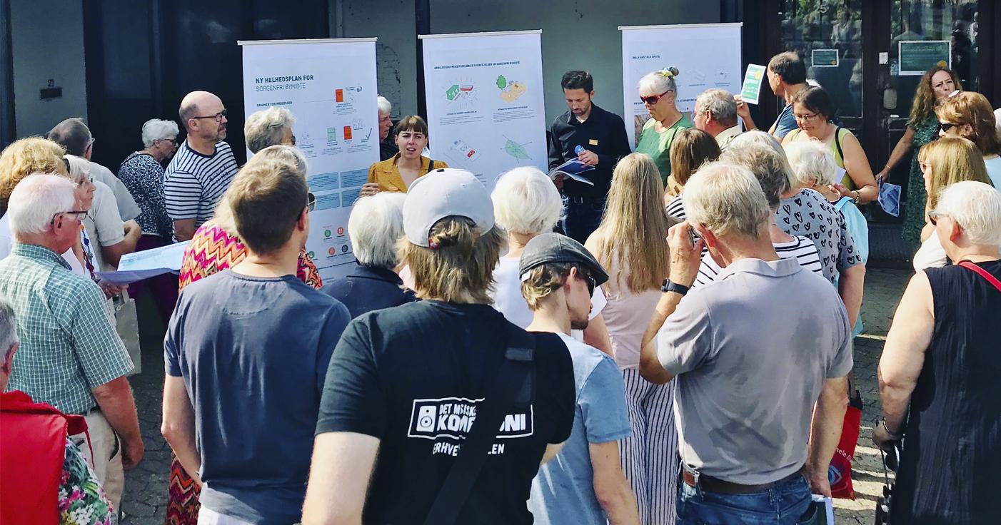 Byudviklings- og dialogproces med stærke, lokale interesser i Sorgenfri