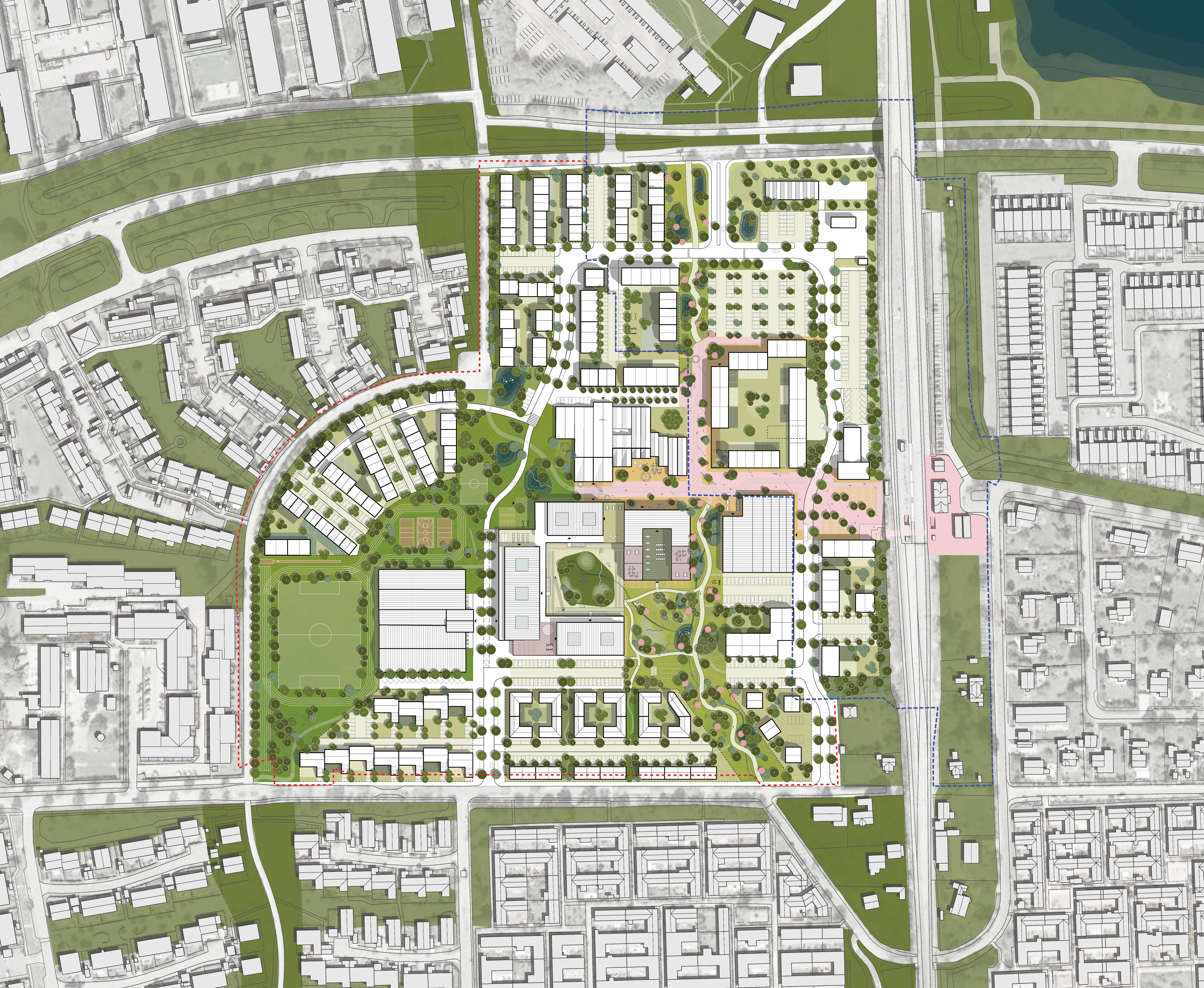 Fremtidens Nivå Bymidte – stationsnær byudvikling i forstaden